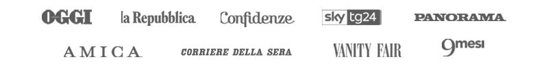 Faboola: visto su Oggi, Corriere della Sera, la Repubblica, Sky Tg24, AMICA, Panorama, VANITY FAIR, 9Mesi, Confidenze